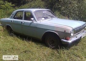 Синий ГАЗ 24-10 Волга, объемом двигателя 2.4 л и пробегом 100 тыс. км за 557 $, фото 1