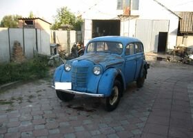 Синий Москвич / АЗЛК 401, объемом двигателя 13 л и пробегом 1 тыс. км за 1350 $, фото 1