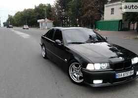 Чорний БМВ 3 Серія, объемом двигателя 2.5 л и пробегом 341 тыс. км за 7300 $, фото 1