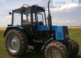 Синий МТЗ 1025 Беларус, объемом двигателя 4.75 л и пробегом 1 тыс. км за 12384 $, фото 1
