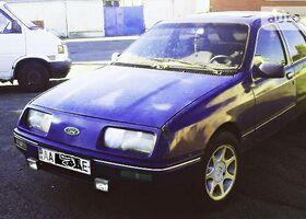 Синий Форд Сиерра, объемом двигателя 2 л и пробегом 150 тыс. км за 900 $, фото 1