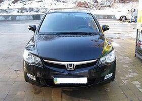 Черный Хонда Цивик, объемом двигателя 1.8 л и пробегом 117 тыс. км за 10600 $, фото 1