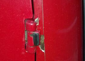 Красный Форд Турнео Коннект, объемом двигателя 1.8 л и пробегом 650 тыс. км за 6000 $, фото 14