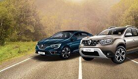 При покупке автомобиля Renault * сигнализация с автозапуском Scher-Khan Logicar 6i в подарок! **