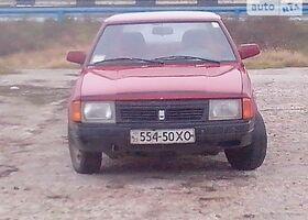 Червоний Москвич / АЗЛК 2141, объемом двигателя 1.5 л и пробегом 100 тыс. км за 650 $, фото 1