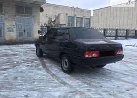 Черный ВАЗ 21099, объемом двигателя 1.6 л и пробегом 167 тыс. км за 3490 $, фото 1