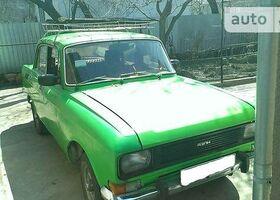 Зеленый Москвич / АЗЛК 2140, объемом двигателя 1 л и пробегом 21 тыс. км за 555 $, фото 1