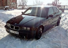 Черный БМВ 3 Серия, объемом двигателя 1.8 л и пробегом 25 тыс. км за 1550 $, фото 1