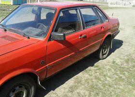 Червоний Ауді 80, объемом двигателя 1.6 л и пробегом 300 тыс. км за 1900 $, фото 1