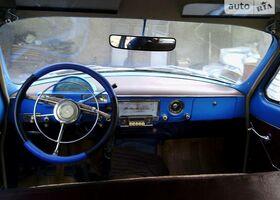 Голубой ГАЗ 21, объемом двигателя 2 л и пробегом 50 тыс. км за 4500 $, фото 1