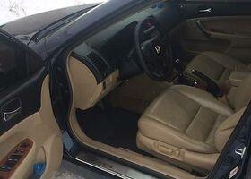 Синий Хонда Аккорд, объемом двигателя 2.4 л и пробегом 200 тыс. км за 10500 $, фото 1