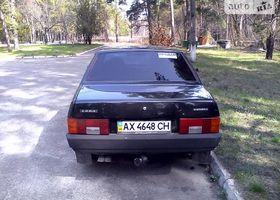 Черный ВАЗ 21099, объемом двигателя 1.5 л и пробегом 132 тыс. км за 2800 $, фото 2