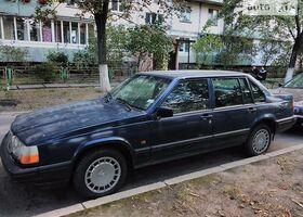 Синий Вольво 940, объемом двигателя 2.4 л и пробегом 408 тыс. км за 3900 $, фото 1