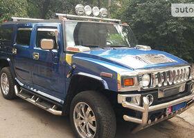 Синий Хаммер Х2, объемом двигателя 0 л и пробегом 150 тыс. км за 35000 $, фото 1