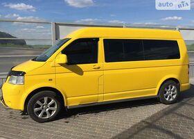 Апельсин Фольксваген Т (Транспортер), объемом двигателя 2.5 л и пробегом 210 тыс. км за 11500 $, фото 1
