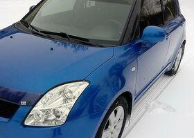 Синій Сузукі Свифт, объемом двигателя 1.33 л и пробегом 82 тыс. км за 7500 $, фото 1
