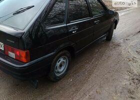 Чорний ВАЗ 2114, объемом двигателя 1 л и пробегом 72 тыс. км за 3501 $, фото 1
