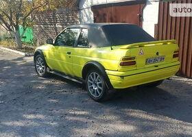 Желтый Форд Эскорт, объемом двигателя 1.6 л и пробегом 160 тыс. км за 2600 $, фото 1