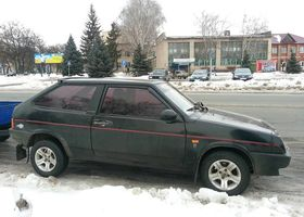 Черный ВАЗ 1111 Ока, объемом двигателя 1.5 л и пробегом 2 тыс. км за 1350 $, фото 1