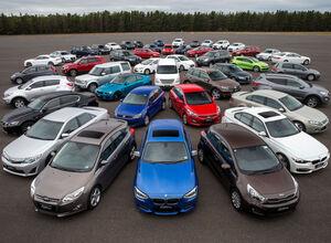 Десятка самых продаваемых подержанных автомобилей в Украине.