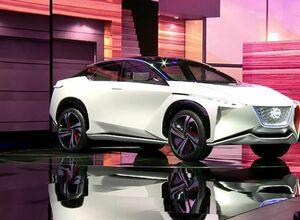 Новый электрический кроссовер Nissan IMx представлен в Токио
