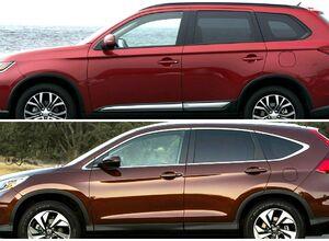 Сравнительный обзор Honda CR-V и Mitsubishi Outlander XL