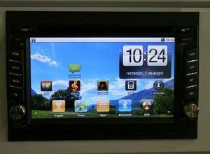 Android 2DIN от компании Санг Йонг