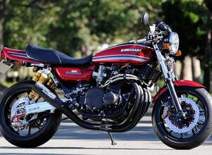 Заряженный Kawasaki Z1