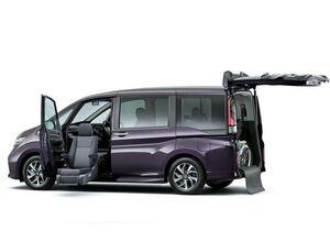 Пятое поколение минивена Хонда