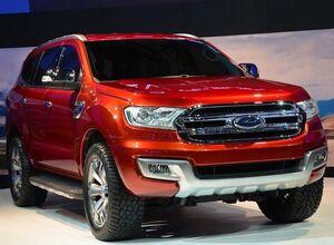 Официально представлен новый внедорожник Форд Эверест
