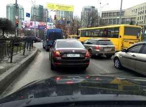Как россияне маскируют авто в Украине