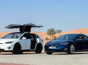 Электромобили Tesla Model X и Model S стали еще динамичнее