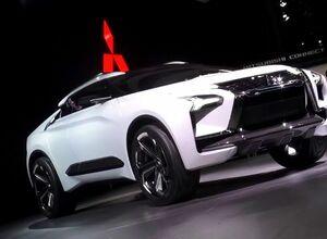 Электрический кроссовер Mitsubishi E-Evolution представлен на Токийском автосалоне