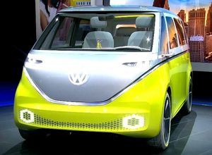 I.D. Buzz: Volkswagen представил электроминивэн будущего (видео)