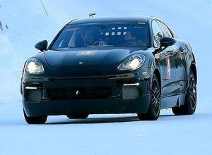 Porsche тестирует электромобиль Mission E в Арктике