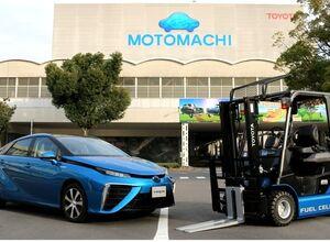 Водородные автопогрузчики заработали на заводе Toyota