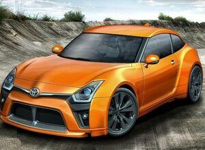 Новый автомобиль от Тойота 69 ДЗ
