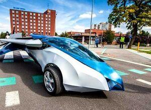Словаки хотят выпустить в продажу в 2017 году летающий автомобиль