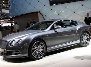 Continental GT/GTC 2015 від Bentley