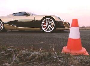 Электромобиль Rimac Сoncept One выиграл дрэг у Bugatti Veyron (видео)