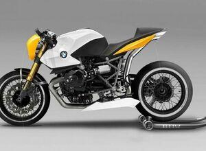 Дизайн нового мотоцикла BMW R12