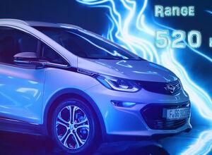 Электрохэтчбек Opel Ampera-e получил запас хода 520 км