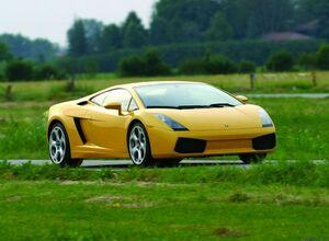 Lamborghini Gallardo выходит на