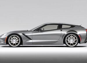 Chevrolet Corvette Aerowagon. Почти гоночный универсал