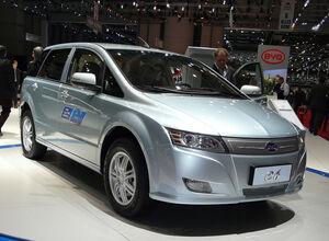 Электрокар БИД Е6 2013