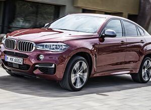 Новый BMW X6 M 2015