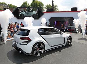 Дебют концепта Гольф ГТИ в Австрии