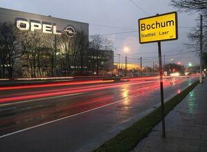 Завод Опель в городе Бохум