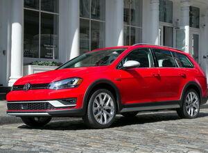 VW Golf Alltrack дебютирует в Нью-Йорке