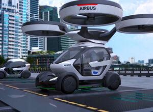 Pop.Up: беспилотный летающий автомобиль от Airbus представлен в Женеве (видео)